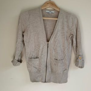Forever 21 - Cardigan Zip Up - Small
